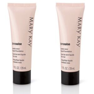 2 Mary Kay Timewise Matte Wear Liquid foundations